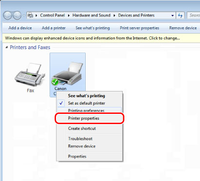 Setting the Department ID Management on the Printer Driver