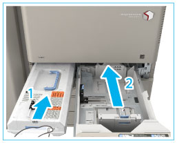Replacing the Waste Toner Container - Canon - imageRUNNER