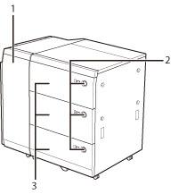 Multi-drawer Paper Deck-C1 - Canon - imagePRESS C850 / C750 / C650